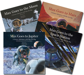 The Max Science Adventure Series by Jeffrey Bennett